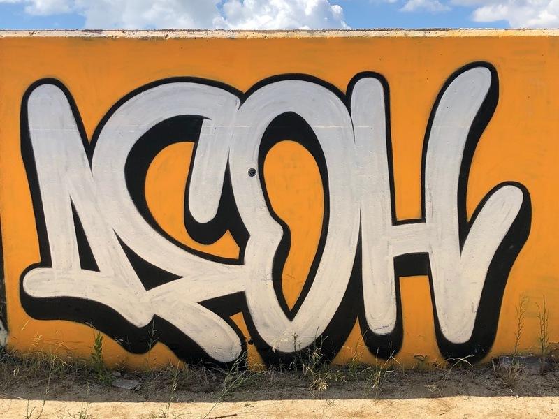 Wallspot - Deoh Art - Forum beach - Deoh Art - Barcelona - Forum beach - Graffity - Legal Walls - Lletres