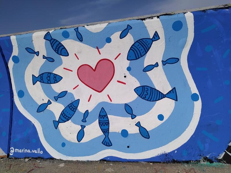Wallspot - Marinavallo - Forum beach - Marinavallo - Barcelona - Forum beach - Graffity - Legal Walls -