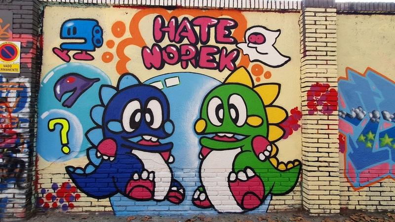 Wallspot - Norek - Barcelona - Selva de Mar - Graffity - Legal Walls -