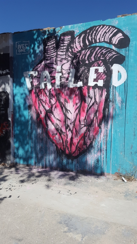 Wallspot - ives.one - StreetHeart II - Barcelona - Selva de Mar - Graffity - Legal Walls - Illustration