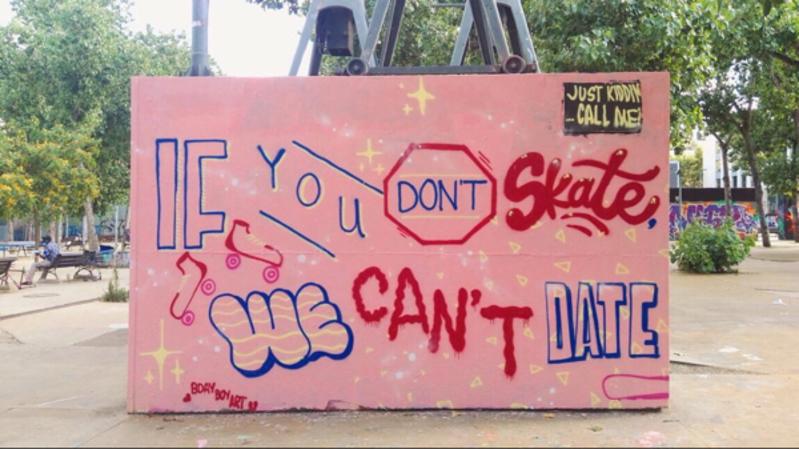 Wallspot - BDAY BOY ART - Barcelona - Tres Xemeneies - Graffity - Legal Walls -