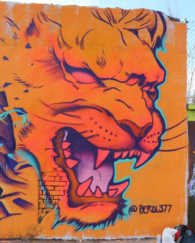 Wallspot -senyorerre3 - Art BEROL377 - Barcelona - Agricultura - Graffity - Legal Walls - Illustration