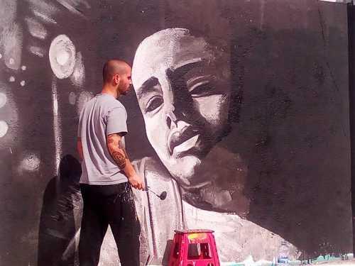 Wallspot -jcdelestal - . - Barcelona - Agricultura - Graffity - Legal Walls -