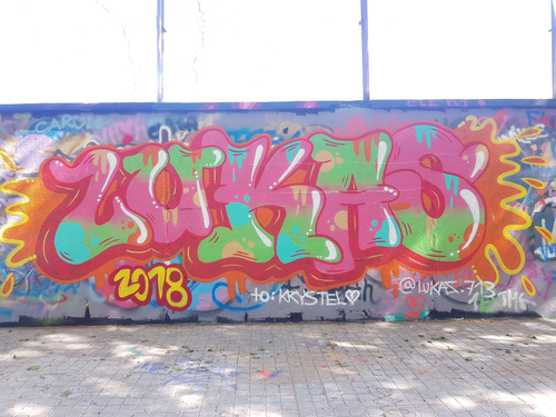 Wallspot - lukas - Agricultura - Barcelona - Agricultura - Graffity - Legal Walls -