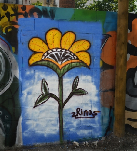 Wallspot - Rina -  - Barcelona - Poble Nou - Graffity - Legal Walls -