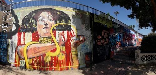 Wallspot - PESK -  - Barcelona - Mas Guinardó - Graffity - Legal Walls -