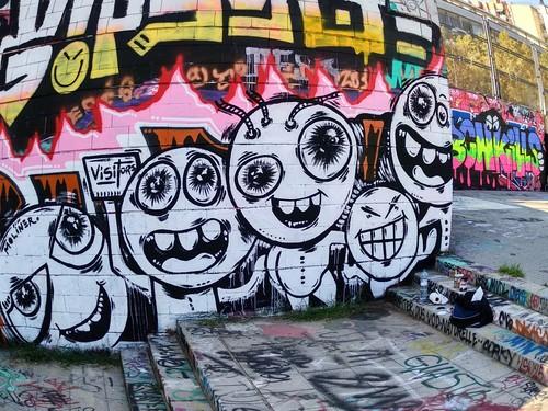 Wallspot - natalia molinero - Drassanes - natalia molinero - Barcelona - Drassanes - Graffity - Legal Walls -
