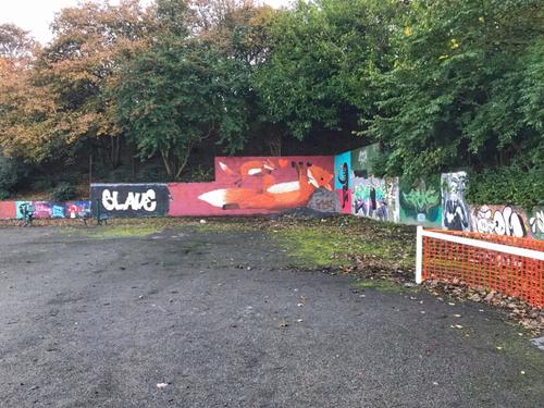 Wallspot - FitLike  -  - Aberdeen - Sunnybank Park / Throwupgallery - Graffity - Legal Walls -