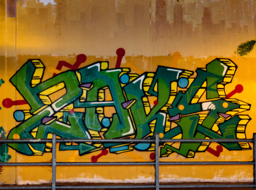 Wallspot - ZAKS - Ponte Europa: Segni Urbani. Parma, Italia - ZAKS - Parma - Ponte Europa: Segni Urbani. Parma, Italia - Graffity - Legal Walls -