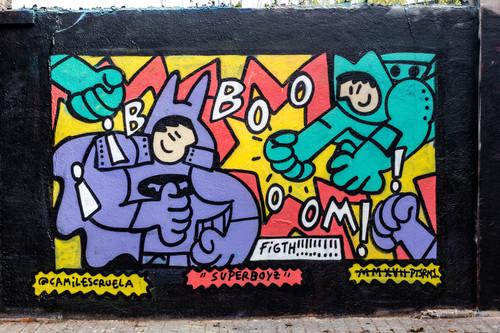 Wallspot -JOAN PIÑOL - KAMIL ESCRUELA - Barcelona - Agricultura - Graffity - Legal Walls -  - Artist - kamil escruela