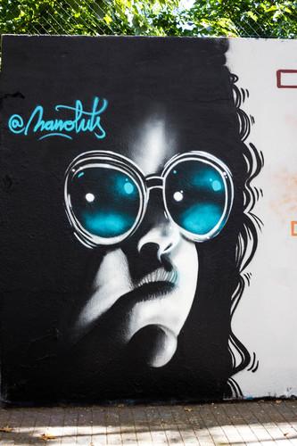 Wallspot -JOAN PIÑOL - NANOLUTS - Barcelona - Agricultura - Graffity - Legal Walls -  - Artist - Manoluts