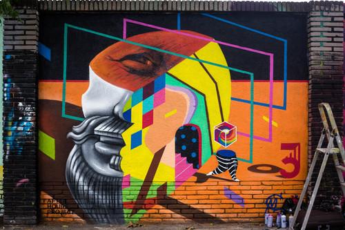 Wallspot -JOAN PIÑOL - MAGDA CWICK - Barcelona - Selva de Mar - Graffity - Legal Walls -  - Artist - Magda Ćwik