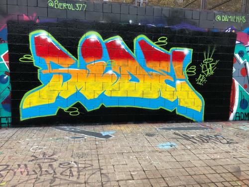 Wallspot - Side194 - Drassanes - Barcelona - Drassanes - Graffity - Legal Walls - Lletres