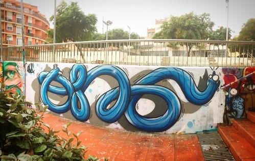 Wallspot - ONA - Mas Guinardó - ONA - Barcelona - Mas Guinardó - Graffity - Legal Walls - , ,