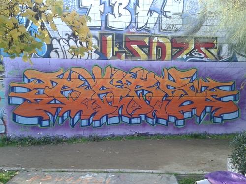 Wallspot - BARS82 - Carbonera - BARS82 - Barcelona - Agricultura - Graffity - Legal Walls - Lletres