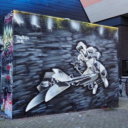 Wallspot - von Schnitzl - Croos - von Schnitzl - Rotterdam - Croos - Graffity - Legal Walls -