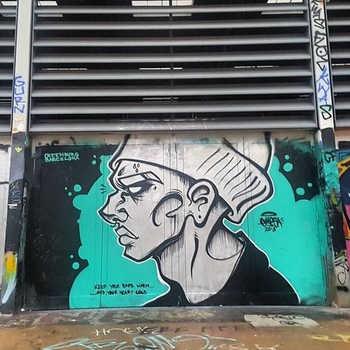 Wallspot -senyorerre3 - Art EMESA - Barcelona - Tres Xemeneies - Graffity - Legal Walls -