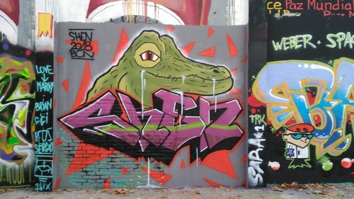 Wallspot - shen -  - Barcelona - Agricultura - Graffity - Legal Walls -