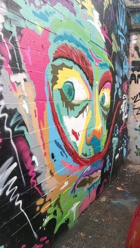 Wallspot - dhemart - Drassanes - Barcelona - Drassanes - Graffity - Legal Walls -