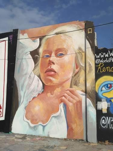 Wallspot -evalop - evalop - Proyecto 17/01/2019 - Barcelona - Agricultura - Graffity - Legal Walls - Il·lustració - Artist - elmanu