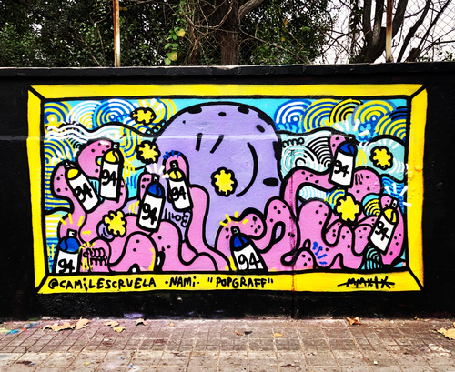 Wallspot - kamil escruela -  - Barcelona - Agricultura - Graffity - Legal Walls - ,