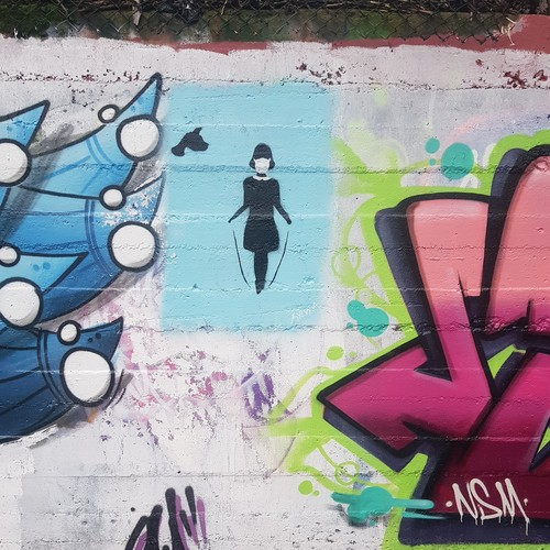 Wallspot - Sylvia - Sunnybank Park / Throwupgallery - Sylvia - Aberdeen - Sunnybank Park / Throwupgallery - Graffity - Legal Walls - Stencil