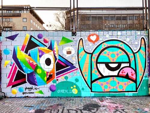 Wallspot - TimMarsh - Mr M Birthday party - Barcelona - Drassanes - Graffity - Legal Walls - Otros