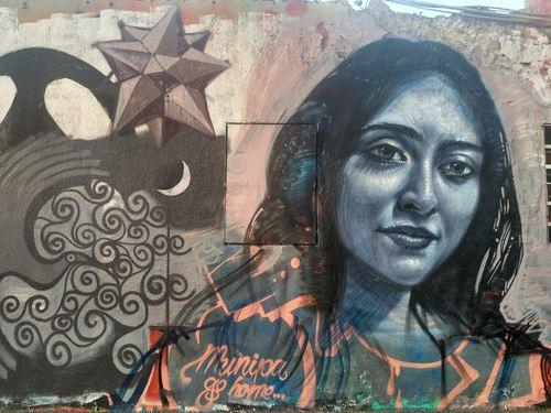 Wallspot -evalop - evalop - Project 22/02/2019 - Barcelona - Western Town - Graffity - Legal Walls - Illustration