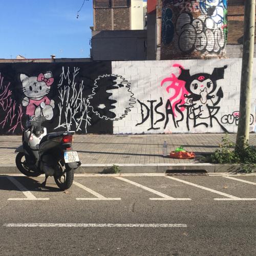 Wallspot - Cut3cutr3 -  - Barcelona - Poble Nou - Graffity - Legal Walls -