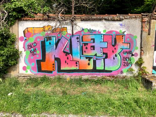 Wallspot - Klay_ -  - Toulouse - TOEC  parc des sports Georges-Aybram à Toulouse - Graffity - Legal Walls -