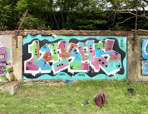 Wallspot - lukas - TOEC  parc des sports Georges-Aybram à Toulouse - lukas - Toulouse - TOEC  parc des sports Georges-Aybram à Toulouse - Graffity - Legal Walls -
