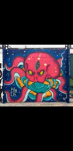 Wallspot - Killa.Ek -  - Barcelona - Drassanes - Graffity - Legal Walls -