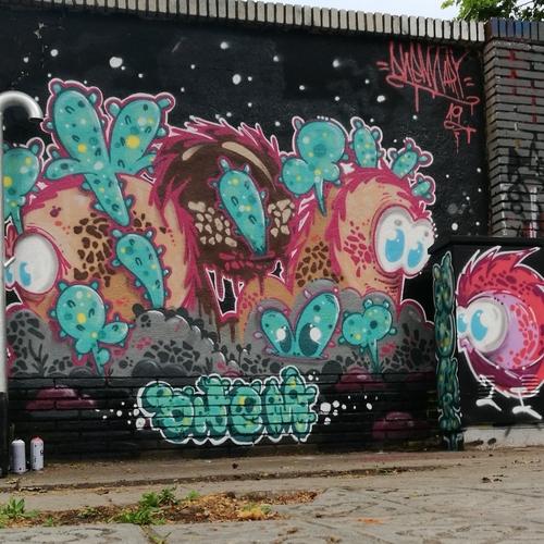 Wallspot - dhemart -  - Barcelona - Selva de Mar - Graffity - Legal Walls -