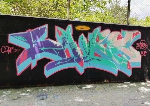 Wallspot - BayRoc -  - Barcelona - Selva de Mar - Graffity - Legal Walls -