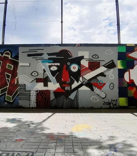Wallspot - andjka -  - Barcelona - Agricultura - Graffity - Legal Walls -