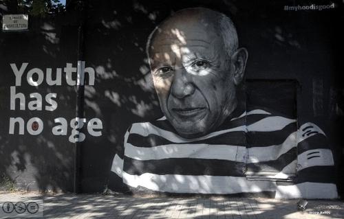 Wallspot -imatges i píxels - Carrer Veneçuela. Poblenou. Juny 2019 - Barcelona - Agricultura - Graffity - Legal Walls - Letras, Ilustración