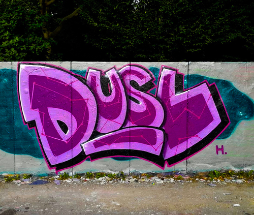 Wallspot -El_Dusel.44 - DUSL - Rennes - 243 Rue de Vern 35200 Rennes - Graffity - Legal Walls -