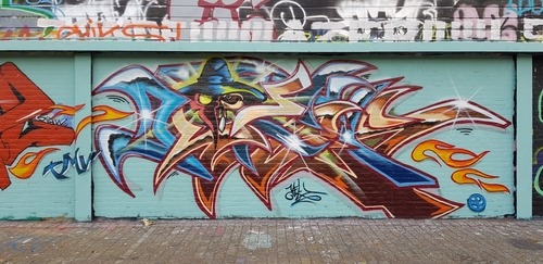 Wallspot - KEL -  - Rotterdam - Croos - Graffity - Legal Walls -