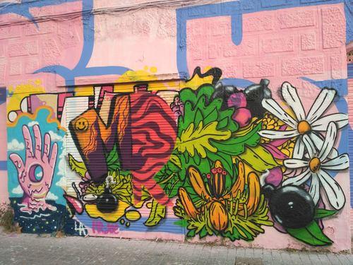 Wallspot -evalop - evalop - Project 18/09/2019 - Barcelona - Western Town - Graffity - Legal Walls - Illustration