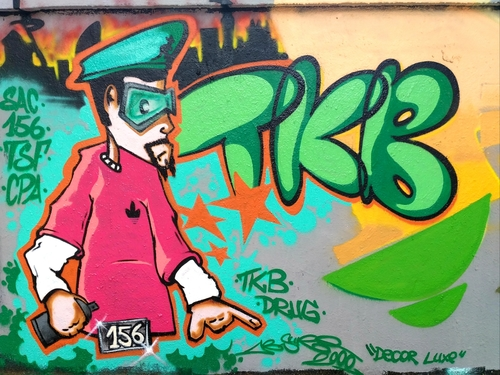 Wallspot - ABSURE2000 -  - Barcelona - Agricultura - Graffity - Legal Walls -