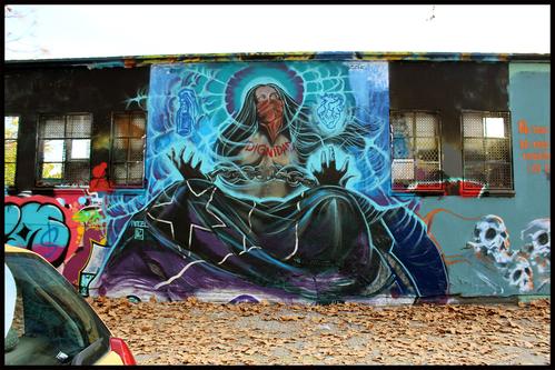 Wallspot - pincel Tattoo -  - Barcelona - Agricultura - Graffity - Legal Walls -