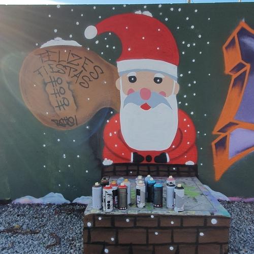 Wallspot - Hate_one -  - Barcelona - Parc de la Bederrida - Graffity - Legal Walls -