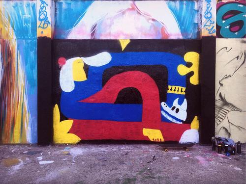 Wallspot - tomas_olivos -  - Barcelona - Agricultura - Graffity - Legal Walls -