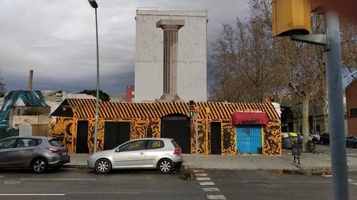 Wallspot - AndreTheSpider -  - Barcelona - Western Town - Graffity - Legal Walls -