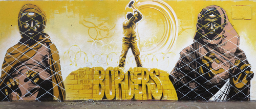 Wallspot - roc blackblock - Tres Xemeneies - roc blackblock + rubicon - Barcelona - Tres Xemeneies - Graffity - Legal Walls -