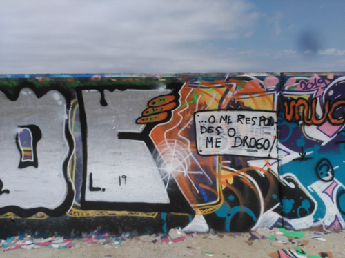 Wallspot - bloc - Forum beach - Barcelona - Forum beach - Graffity - Legal Walls - Letras