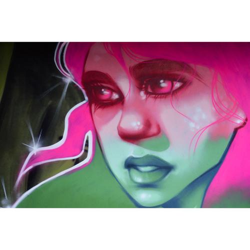 Wallspot - martantares - El pont de la ronda - martantares - Barcelona - El pont de la ronda - Graffity - Legal Walls - Ilustración