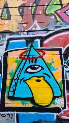 Wallspot - melon_ink -  - Barcelona - Drassanes - Graffity - Legal Walls -