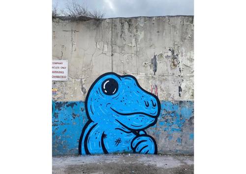Wallspot - KMG - Camo Dregs - Dundee - Mary Ann Lane - Graffity - Legal Walls - Il·lustració