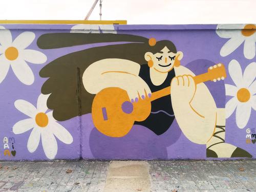 Wallspot - gemfontanals - Amaia - Barcelona - Agricultura - Graffity - Legal Walls - Il·lustració